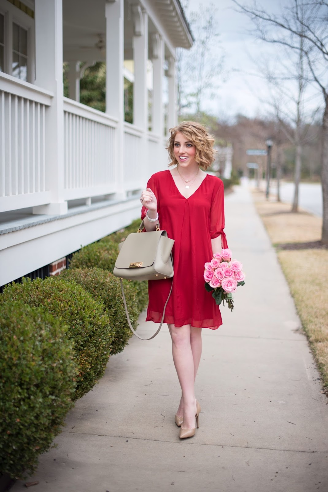 Valentine's Outfit Inspiration - Something Delightful Blog
