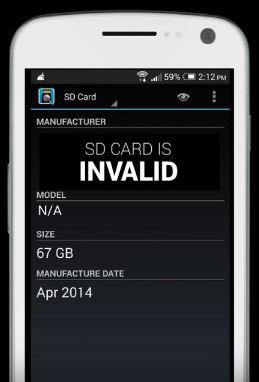كيف تميز بين بطاقة الذاكرة الأصلية و المقلدة ؟ من خلال تطبيق SD Insight