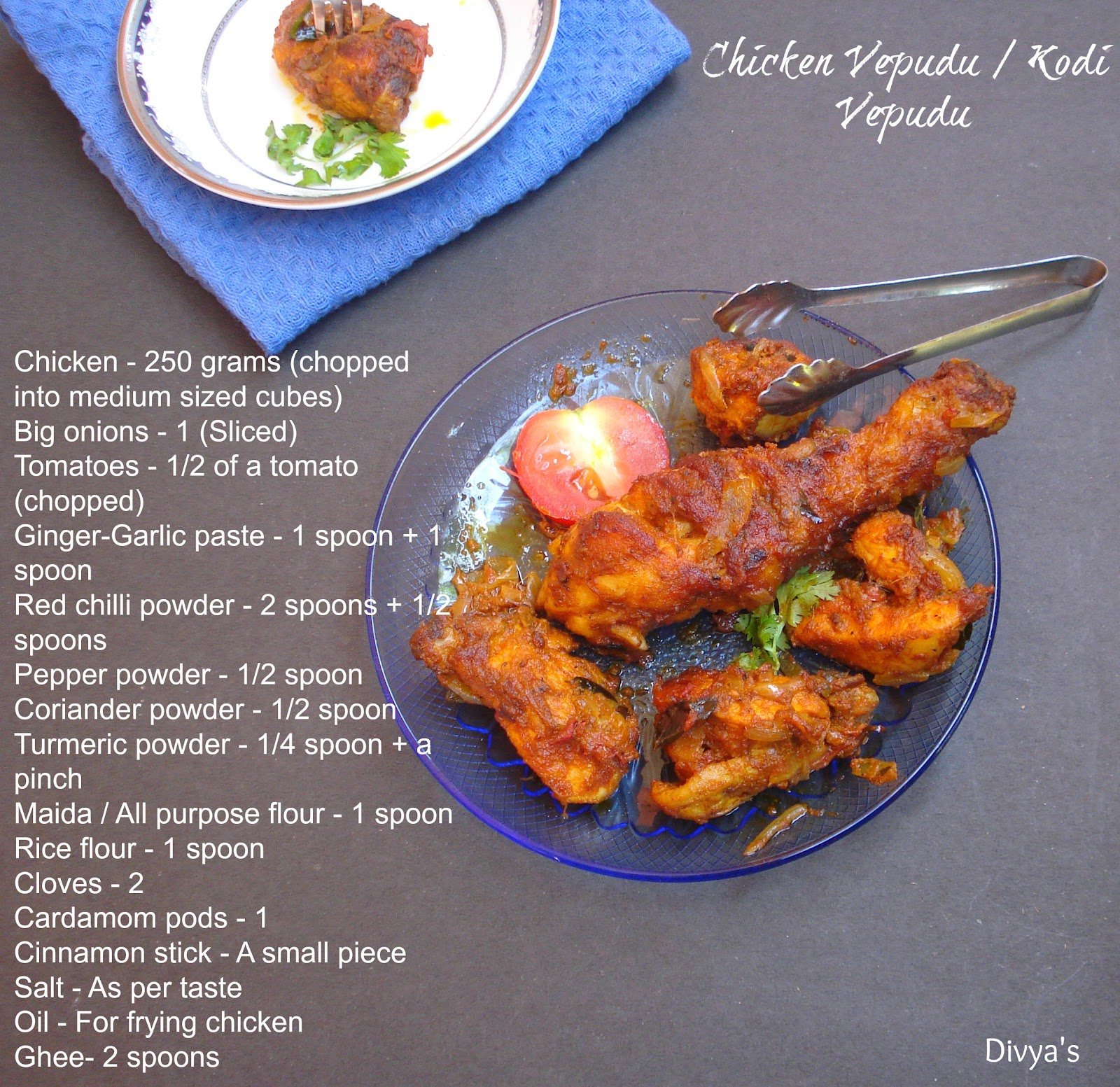 Chicken vepudu kodi vepudu fried chicken dry masala andhra delicious forumfinder Choice Image