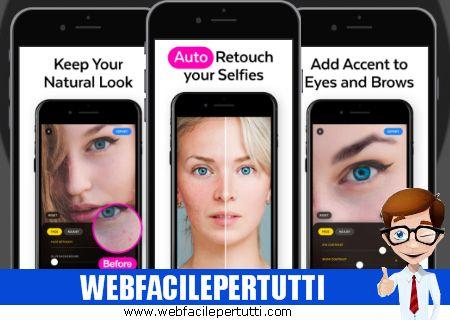 Lensa Photo Editor - Applicazione per eliminare i difetti dai selfie con l'intelligenza artificiale