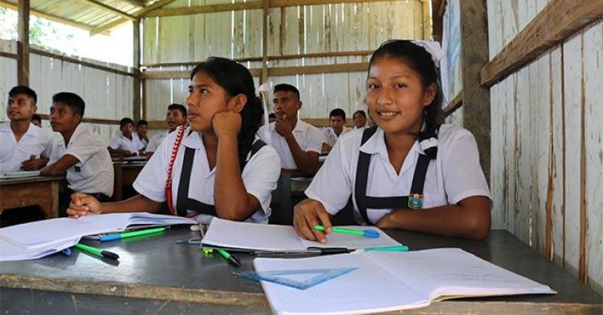 MINEDU: Cuarta convocatoria para la subvención de secundaria con residencia estudiantil - www.minedu.gob.pe