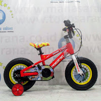 12 pacific looney tunes bugs bunny lisensi bmx sepeda anak