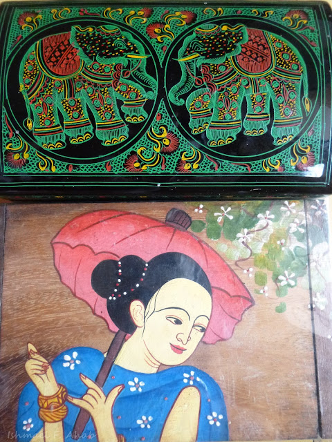 Thailand souvenir - jewel boxes from Mae Sai