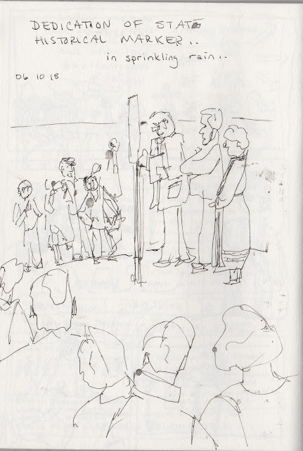 Scribbling With Spirit: Sketching in Church: The 150th