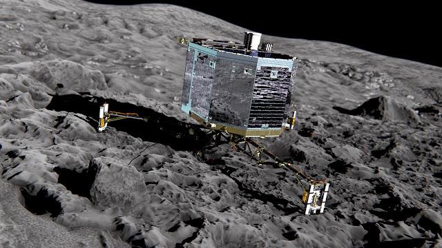Προσεδαφίστηκε το Philae στον κομήτη 67P!