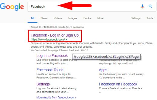 google go to facebook login basic facebook help. Black Bedroom Furniture Sets. Home Design Ideas