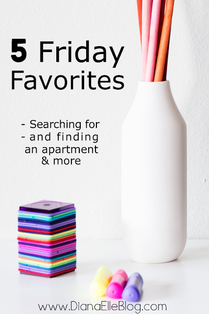 Five Friday Favorites - Hamburg, Finding an Apartment & More