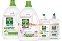 Logo Opinion Model: diventa tester detergenti ecologici L'Albero Verde