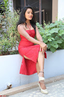 Mamatha sizzles in red Gown at Katrina Karina Madhyalo Kamal Haasan movie Launch event 067.JPG