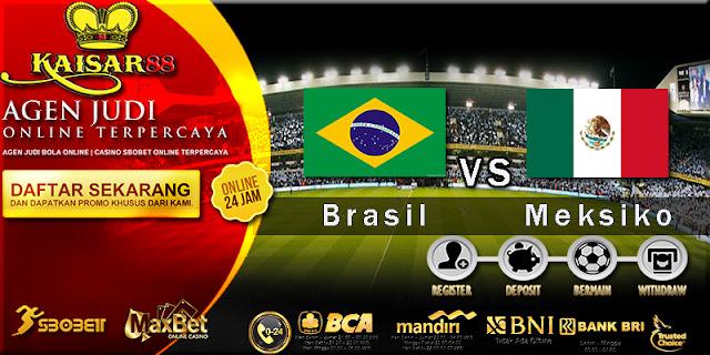 Prediksi Bola Jitu Brasil Vs Meksiko 2 Juli 2018