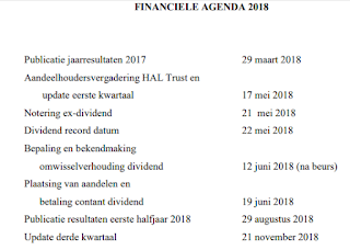hal trust agenda 2018