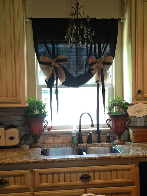 Elegant Kitchen Curtains 10