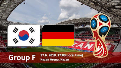 Live Streaming South Korea vs Germany Piala Dunia 27.6.2018