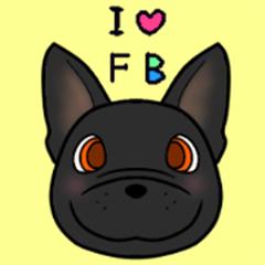 I love french bulldog ~brindle ver~