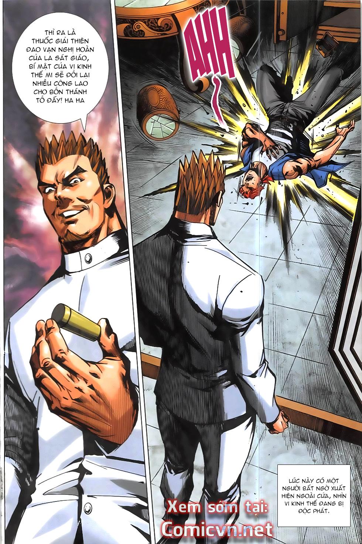 Hoàng Giả Chi Lộ chap 12.2 Trang 36 - Mangak.info