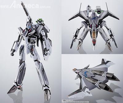 Figura DX Chogokin VF-31F Siegfried Messer Ihlefeld Custom Macross Delta