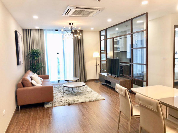 Phòng khách căn hộ Eco Dream