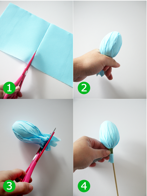 DIY Easter Egg Centerpiece Tutorial - BirdsParty.com