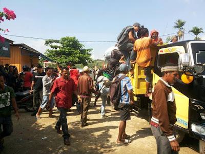 Demo Anarkis yang Menolak KNPB dan ULMWP Dilakukan Orang Non Papua Bukan Orang Asli Papua