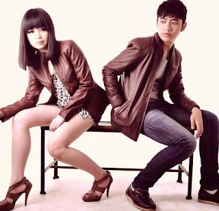 jaket kulit sintetis couple