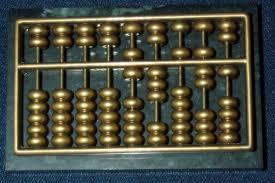 Abacus Generasi komputer sebelum tahun 1940