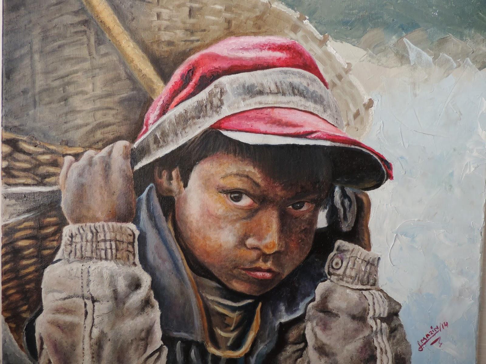pintores Colombianos, jorge marín artista