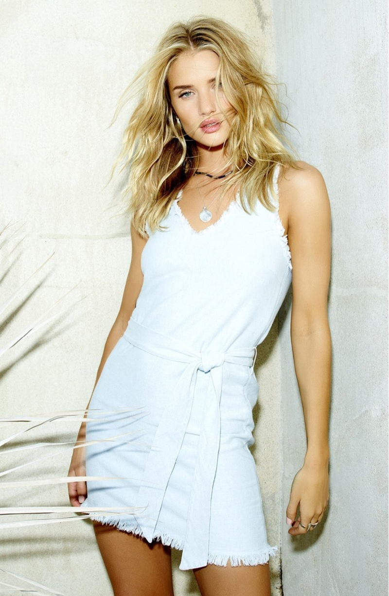 Rosie Huntington-Whiteley's PAIGE Clothing Collaboration