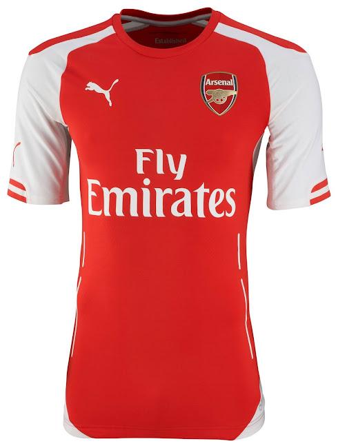 6e901ba9567 Arsenal 14-15 (2014-15) Puma Home
