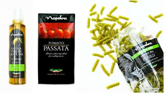 New Napolina products