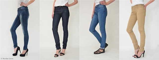 Eco alternatives to skinny jeans from Monkee Genes