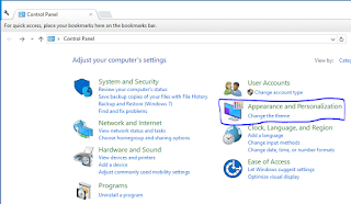 Menambahkan Shortcut Control Panel dan Computer di Desktop Windows 10