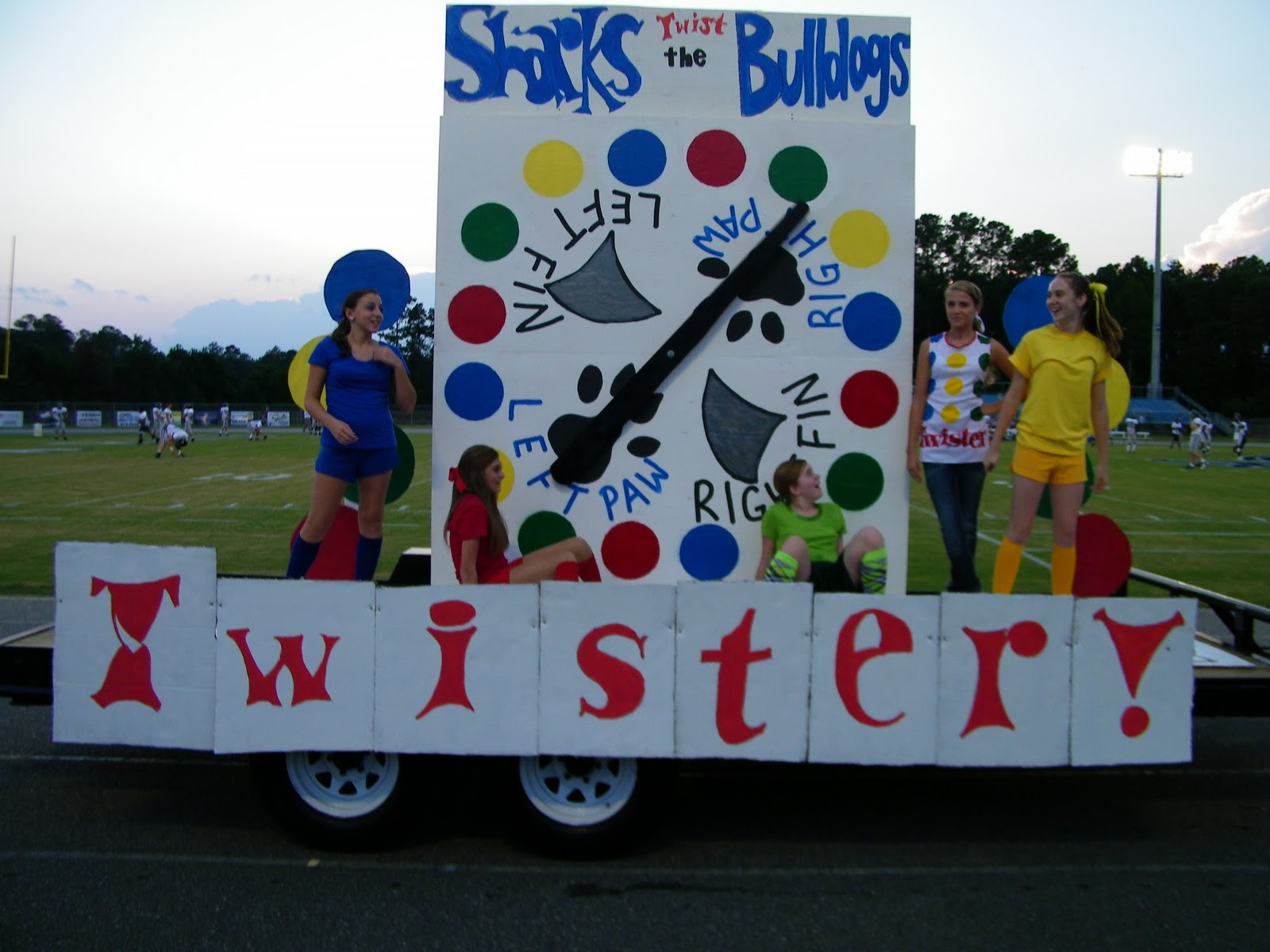 Homecoming 4 of 4 from floats to royalty shark attack online for Princess float ideas