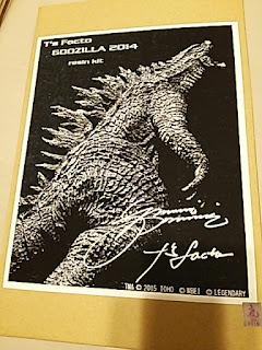 Box Picture Godzilla 2014 resin kit by T's Facto KAIJU JAPAN