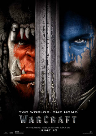 Warcraft: The Beginning 2016 BRRip 720p Hollywood Dual Audio