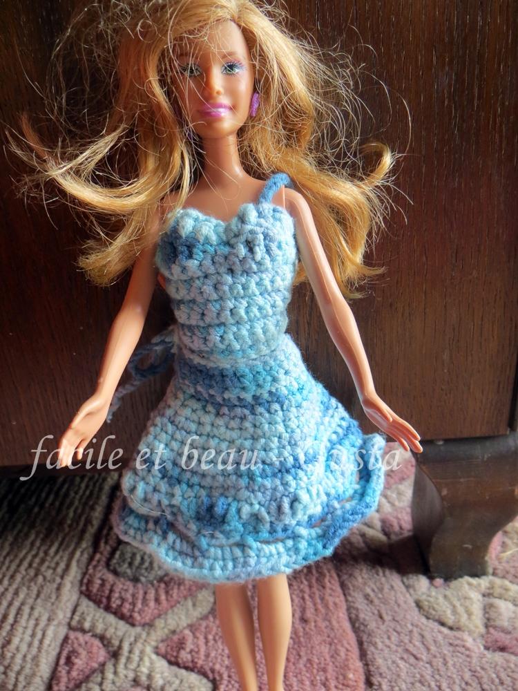 Facile Et Beau Gusta Sommerkombi Nr 2 Für Barbie