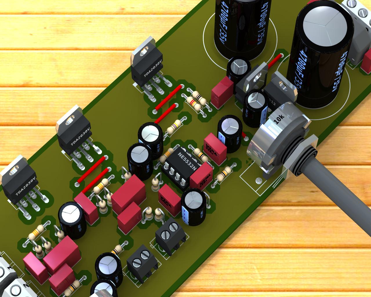 Tda2030 35w Bridged Amplifier