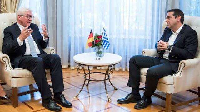 Tsipras-Steinmeier: Prespa Agreement is brave step