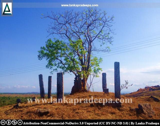 Ancient ruins at Buddhangala Viharaya