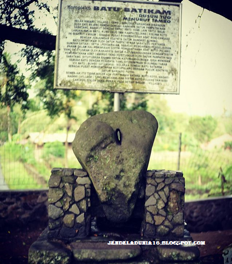 Batu Batikam, Objek Wisata Cagar Budaya Masyarakat Minangkabau