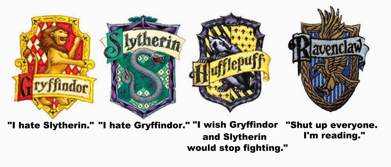 The Erudite Ravenclaw Accurate Representation Of Hogwarts Houses