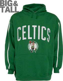Big and Tall Boston Celtics Sweatshirt