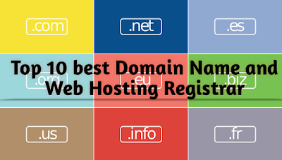 Top 10 best Domain Name and Web Hosting Registrar