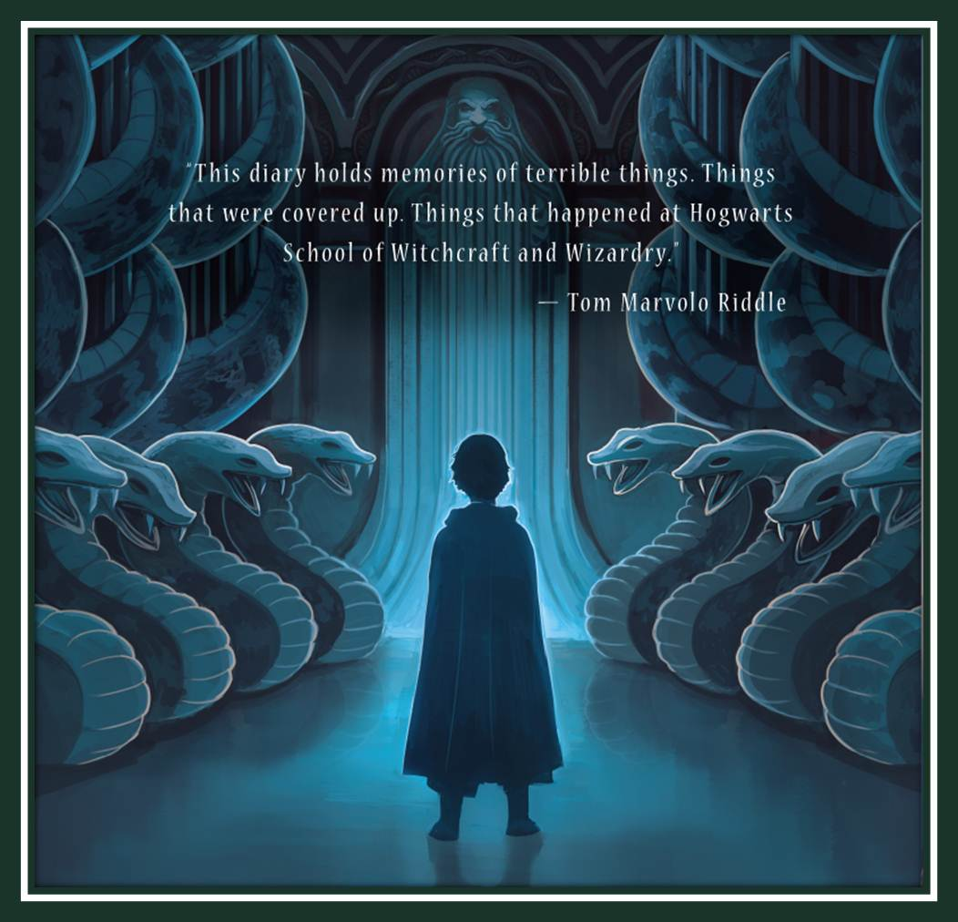 Harry Potter and the Chamber of Secrets Back Cover