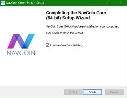 Abrir y Guardar Criptomoneda NAV Coin