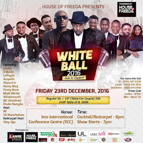 AY and 2face set for White Ball 2016 live in Owerri_1
