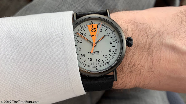 Timex 25th Hour Watch wrist shot