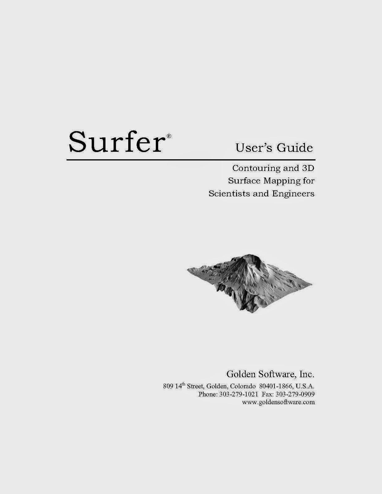 ဒဂုံဘူမိ: Surfer User's Guide