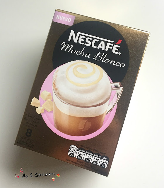 Nescafé Mocha Blanco