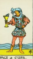 Page of Cups in Love and Relationships - Priania