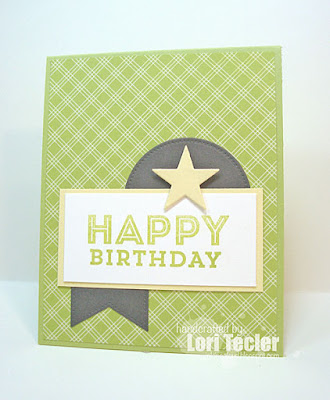 Happy Birthday card-designed by Lori Tecler/Inking Aloud-stamps and dies from My Favorite Things